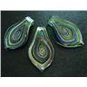 Vackert Glashänge - Blått & Grönt - Modell 159