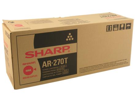 SHARP Black Toner Cartridge AR270T