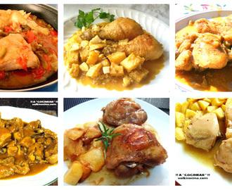 Recetas de de pollo de corral guisado en olla rapida mytaste - Pollo de corral guisado ...