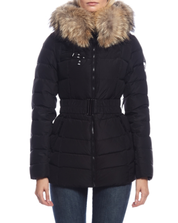 Avoriaz black down jacket