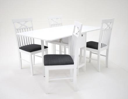 Sofiero matgrupp - Bord inklusive 4 st Sofiero stolar - Vi