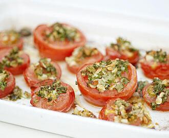 Halve bagte tomater opskrifter - myTaste