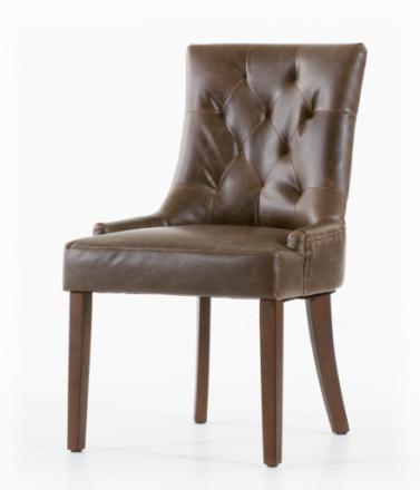 Tuva stol - Vintage Läder
