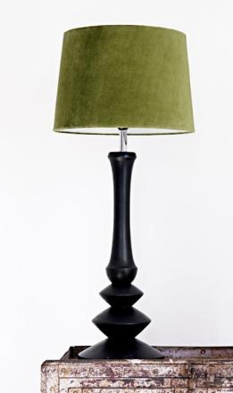 Bordslampa snidad 66 - Svar