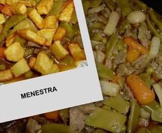 Recetas de como hacer menestra de verduras congeladas - Como preparar menestra de verduras ...