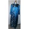 klänning, aftonklänning i äkta siden/silke med kappa,vintage,50-tal, st ca 38