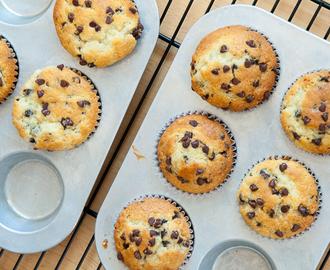 schokotropfen muffins rezepte mytaste. Black Bedroom Furniture Sets. Home Design Ideas