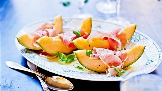 Melon med Prosciutto