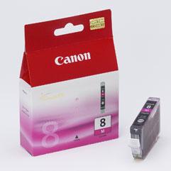 Canon bläckpatron CLI-8M magenta (röd) 0622B001