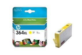 HP bläckpatron 364XL gul (CB325EE)