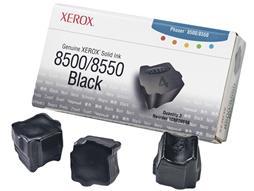 XEROX 108R00668 Genuine Xerox Solid Ink 8500/8550 Black (3 sticks)