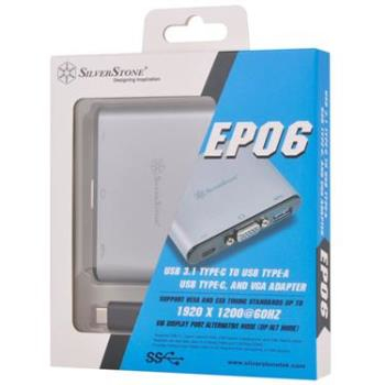 ;Silverstone EP06C USB 3.1 Type-C to USB Type-A ,