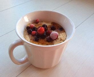 Ovaltine Cake In A Mug
