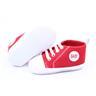 Nya BABY Antiglid skor/tossor Babyskor Barnskor 9-15 Månader- Röd