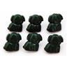 Knappar Hundvalp Gröna 6 st