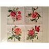 3 Servetter rosor 25 x 25 cm No.106