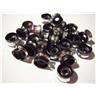 Aluminum Beads Ni & Leads-Free Tube 6x4mm ** 25 st Svart **