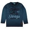 ny metoo 7 år=122 tröja snyggt blå med biltema