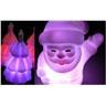 NY! Julgran + Jultomten nattlampa till barnrummet/lekstugan