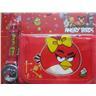 ANGRY BIRDS Set med Klocka och Plånbok Angry Bird Röd + Röd - KP3
