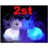 NY! 2st Kaninlampa nattlampa kanin till barnrummet/lekstugan