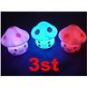 NY! 3st svamplampa nattlampa svamp till barnrummet/lekstugan