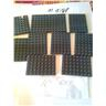lego nytt platta plattor 6x8 mörkgrå 10st