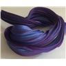 Shibori Silke 20cm, blålila toner