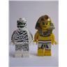 Lego Figur Figurer - Samlingsfigurer - 2st Figurer FKL 1378
