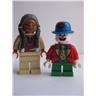Lego Figur Figurer - Samlingsfigurer - 2st Figurer FKL 1379