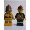 Lego Figur Figurer - Samlingsfigurer - 2st Figurer FKL 1386