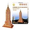 3D Pussel Empire State Building Jigsaw Mini Empire State Building DIY Toy