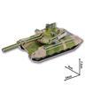 3D Pussel DIY Leksak - Pansarvagn