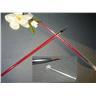 1 Ny Vinröd proffs nagel konst pensel till gel och akryll