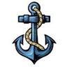 Ankare sjömän sjöman båt Dekal dekor nailtatto 10 skepp kitsch alternativ sailor