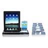 Multifunktionell Laddare/Dock Högtalare för iPad Air/iPhone 4s/5S/6/Samsung