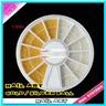 Hjul med dekorationer Nageldekornation för naglar 1000 delar