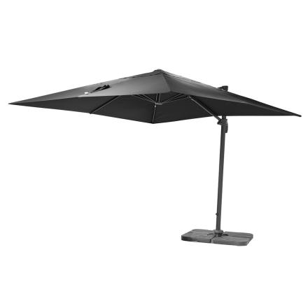 Parasoll Tobago - Grå - Fyrkantig