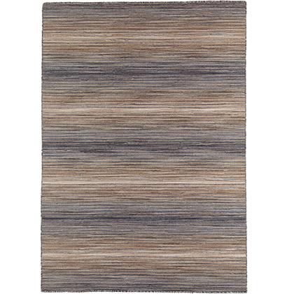 Handvävd matta - Himalaya - Grå - Ull - 140x200 cm