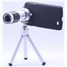 12x Zoom kamera teleskop + stativ för Samsung Galaxy 3