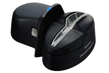 Slipmaskin för keramiska knivar, batteridriven