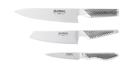 Global Knivset med G-2, GS-5, GS-38