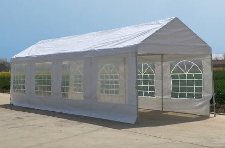 Partytält 3x9m - 180g/m²