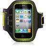 Belkin EaseFit Sport, armband för iPhone4/4S, svart/gul