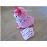 Äkta AlPacasso alpacka gosedjur pastell rosa kawaii Japan gyaru plush fluffig