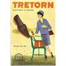 TRETORN Reklam/Prislista Elette -skor 1961-62 Helsingborg