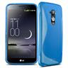S-line skal LG Optimus G Flex (D955) (Blå)