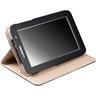 """Krusell Luna Tablet Case, fodral av konstläder för Galaxy 7.0"""", svart"""
