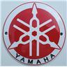 Yamaha emaljerad skylt emaljskylt