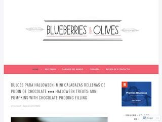 Blueberries and olives